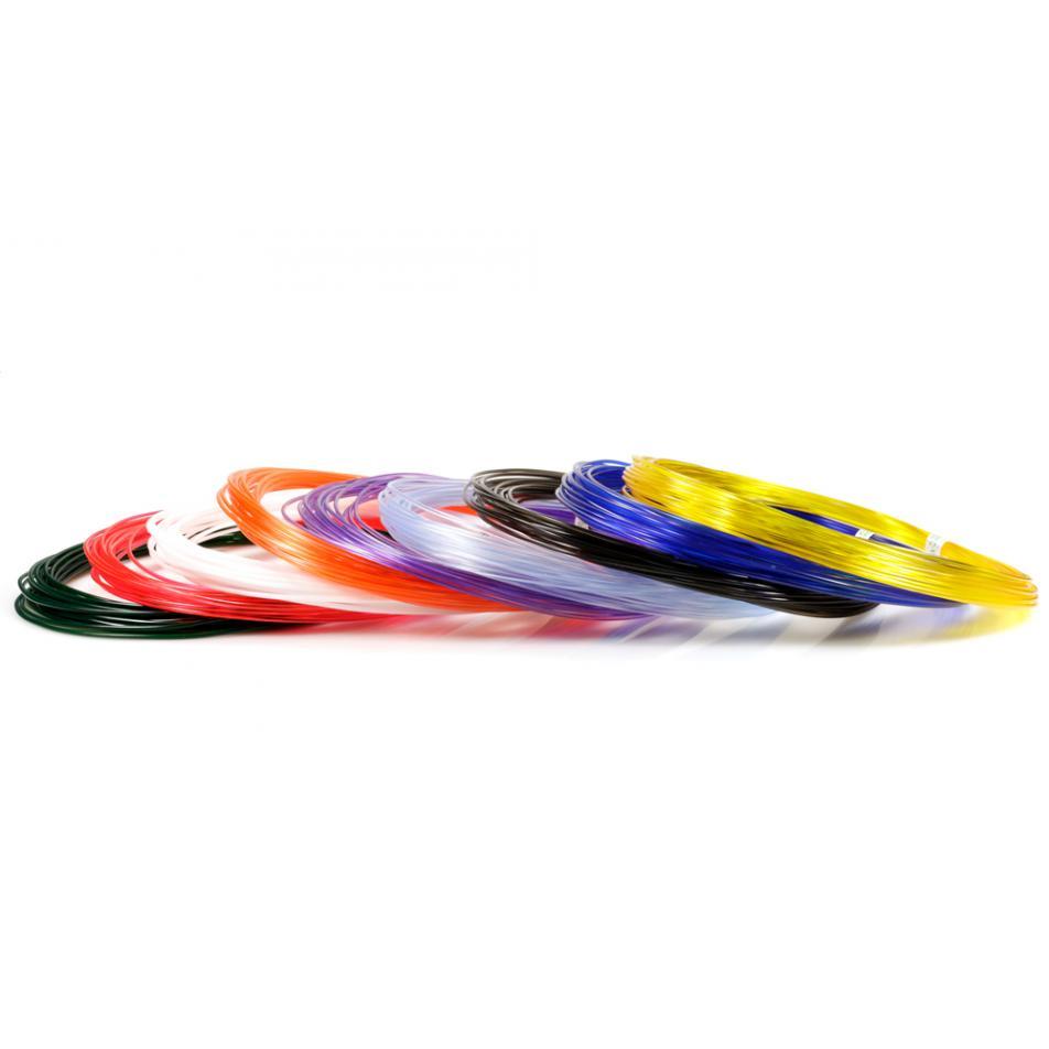 Пластик для 3D ручек UNID PRO по 10 м. 9 цветов в коробке