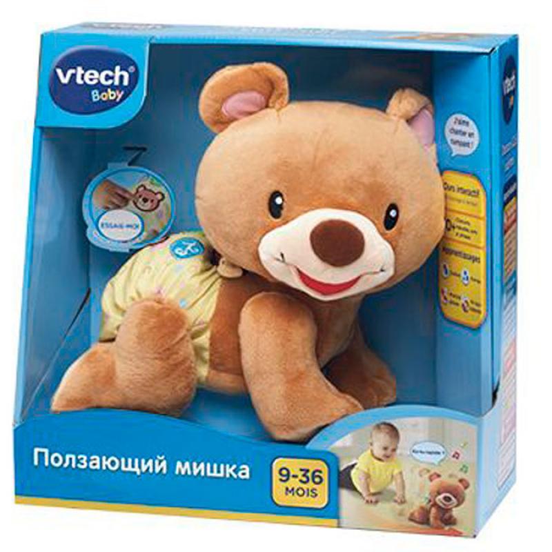 Развивающая игрушка Vtech - Ползающий мишка фото