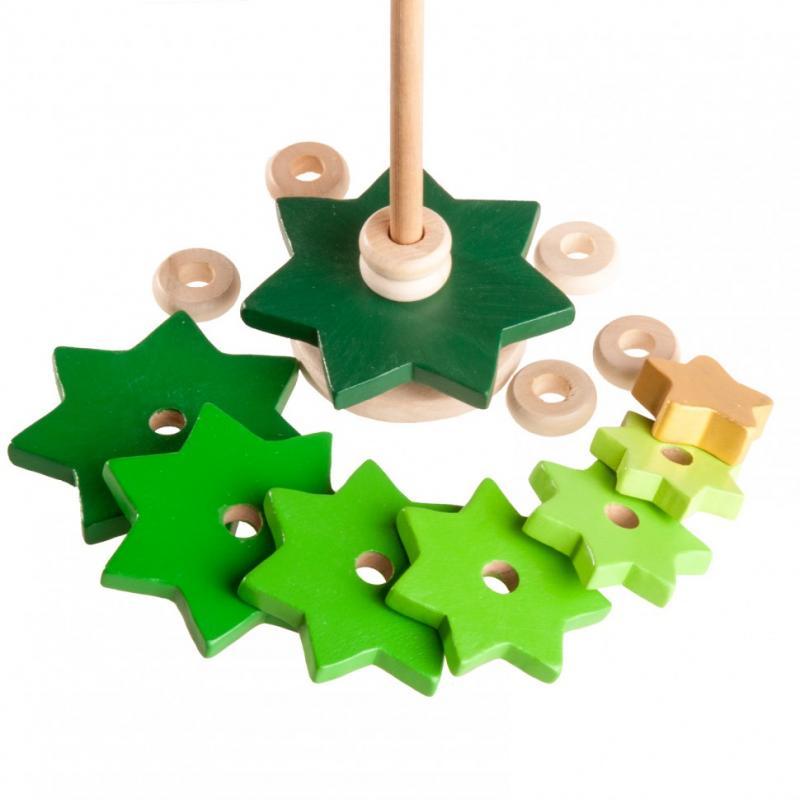 Пирамидка Вальда - Елочка  зеленая фото