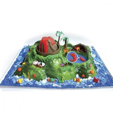 Игровой набор Вулканический остров (Volcano Dino Play)