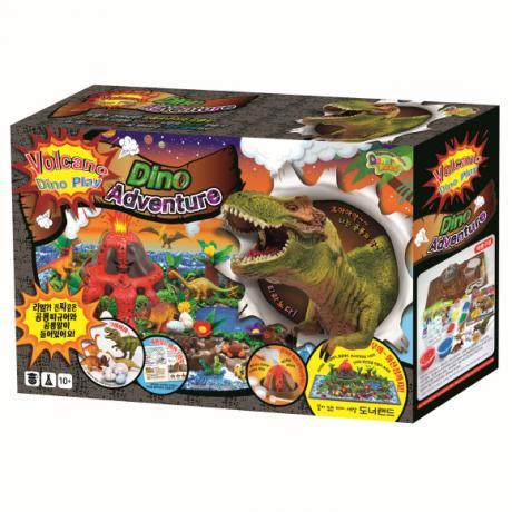 Игровой набор Вулканический остров (Volcano Dino Adventure)