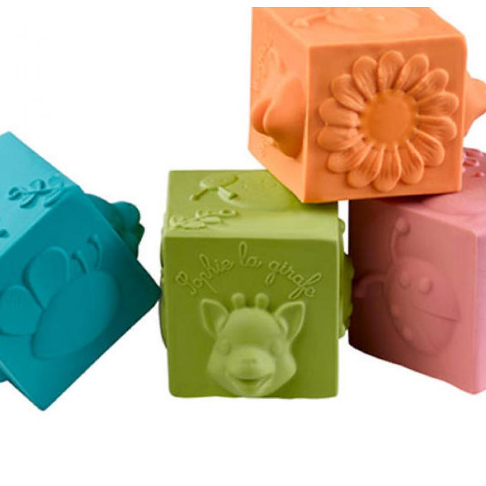 Vulli  Игрушка развивающая - кубики