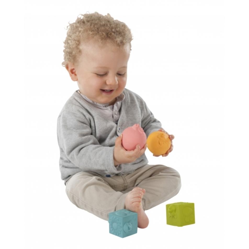 Vulli Игрушки в наборе: мячики, кубики