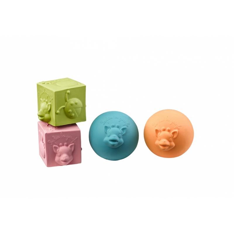 Vulli Игрушки в наборе: мячики, кубики фото