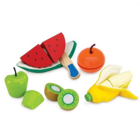 Набор фруктов для чистки и нарезки, 5шт.