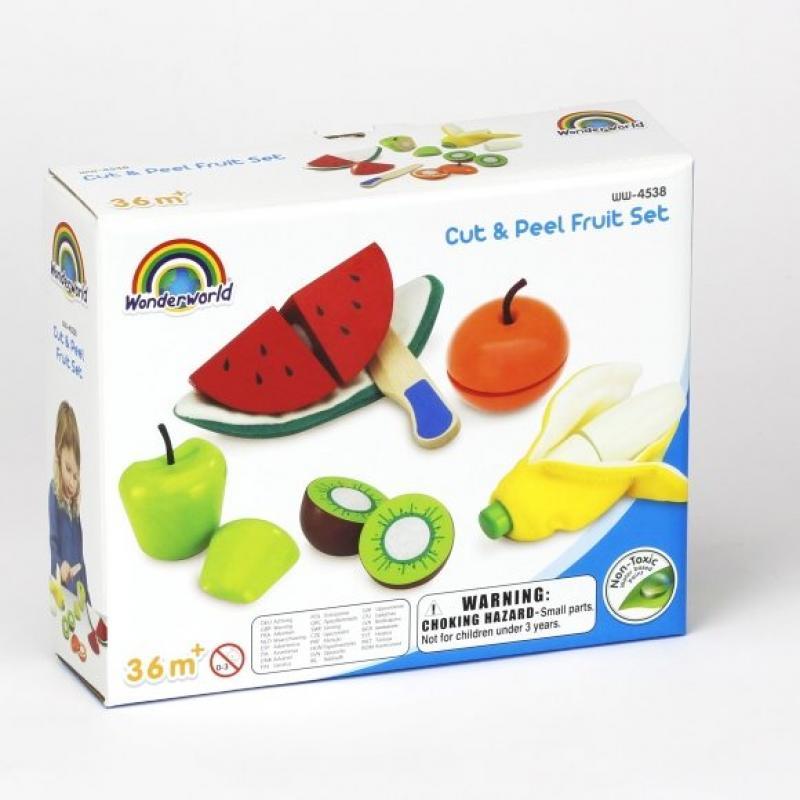Набор фруктов для чистки и нарезки, 5шт. фото