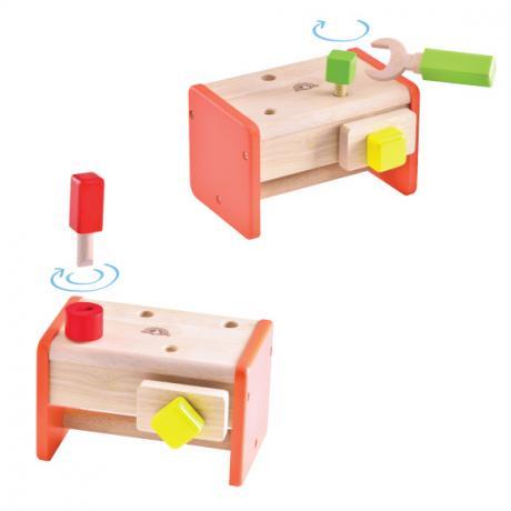 """Игровой набор """"Столярная мастерская для малышей"""", с аксессуарами"""