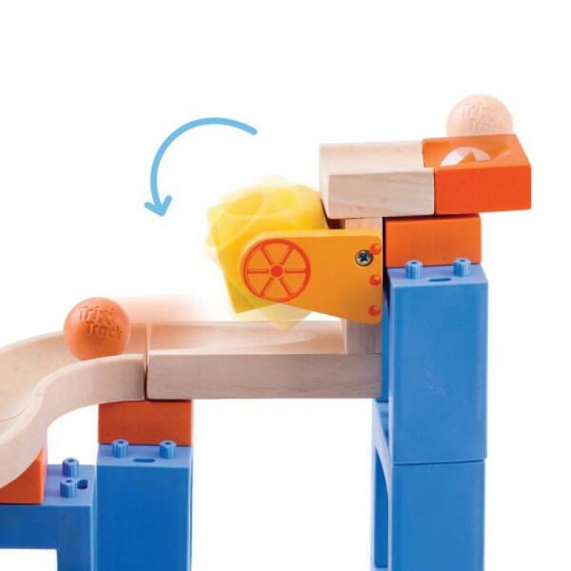 Динамический конструктор Wonderworld Trix-Track - Прыжки с мостом 3 в 1 фото