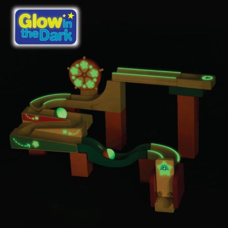 Динамический конструктор Wonderworld Trix-Track - Светящийся в темноте фото