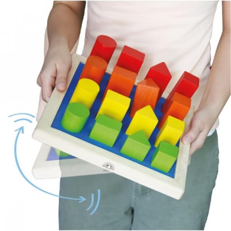Логическая игрушка Wonderworld Basic Learning - Геометрические фигуры фото