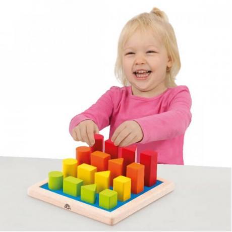 Логическая игрушка Wonderworld Basic Learning - Геометрические фигуры