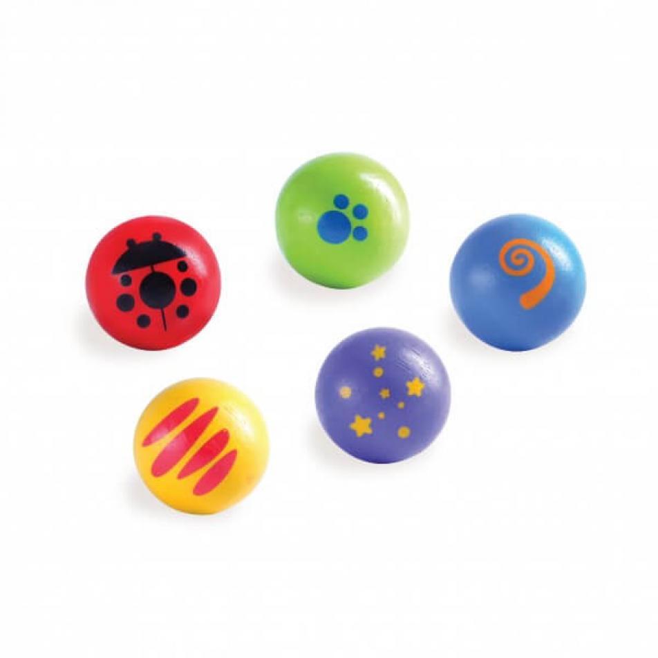 Набор шариков для Конструктора Trix-Track 5 шт