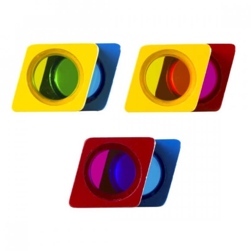 Радужные сенсорные блоки со звуком Wonderworld Blocks - Чудеса фото
