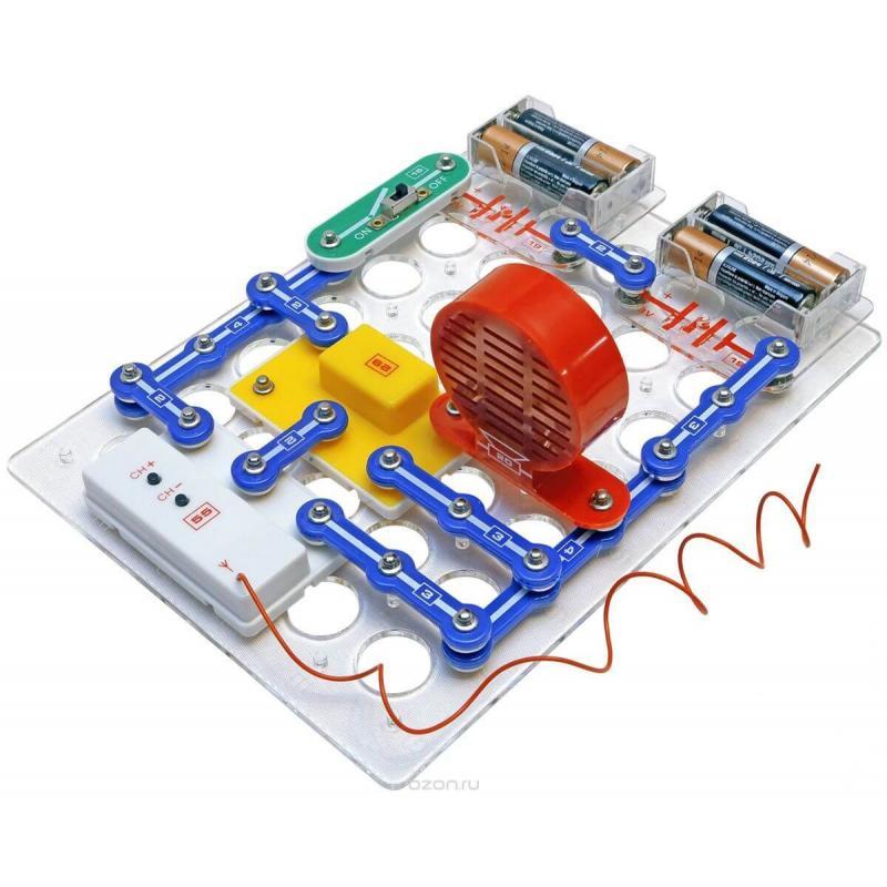Конструктор Знаток «Первые шаги в электронике» на 34 схемы фото