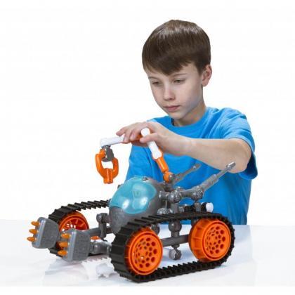Подвижный конструктор ZOOB GALAXY - Z Astrotech Rover