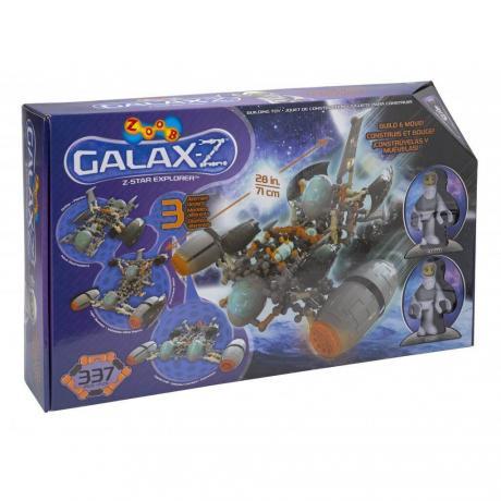 Подвижный конструктор ZOOB GALAXY Z Star Explorer