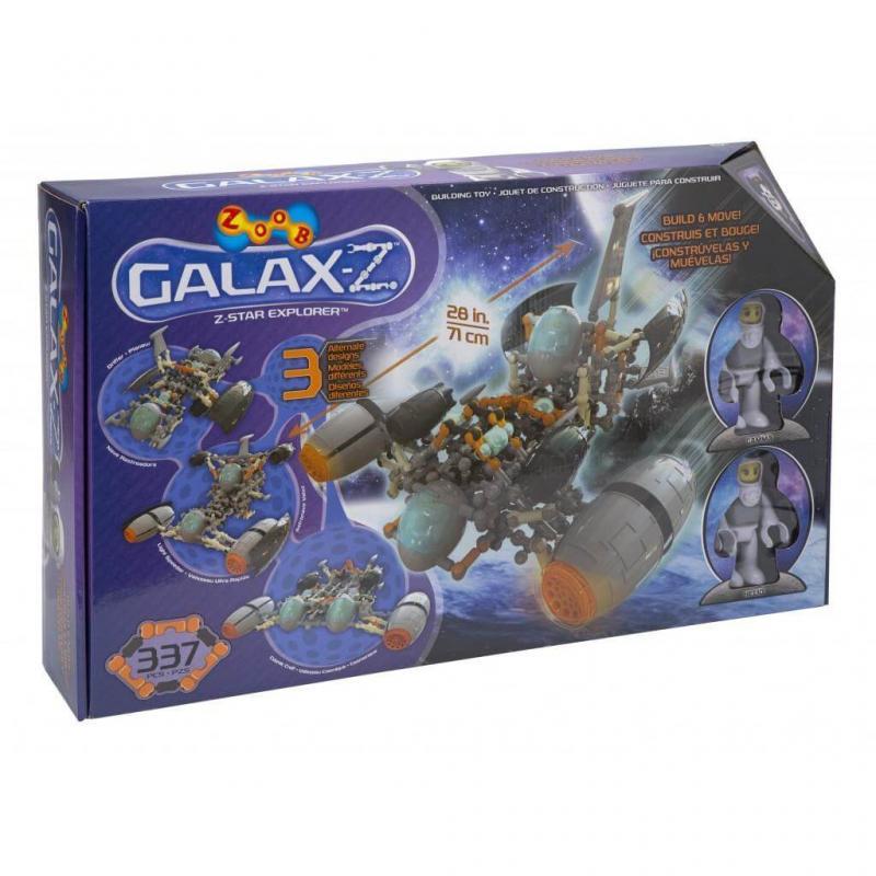 Подвижный конструктор ZOOB GALAXY Z Star Explorer фото