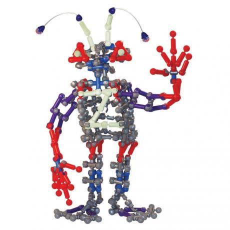Подвижный конструктор ZOOB Glow Alien Creature