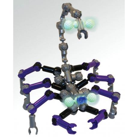 Подвижный конструктор ZOOB Glow Creepy Creatures