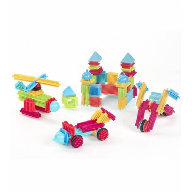 Игольчатый конструктор Battat Bristle Blocks - 112  фото