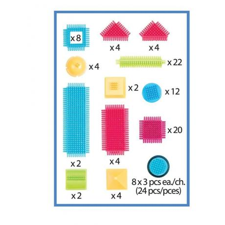 Игольчатый конструктор Battat Bristle Blocks - 112