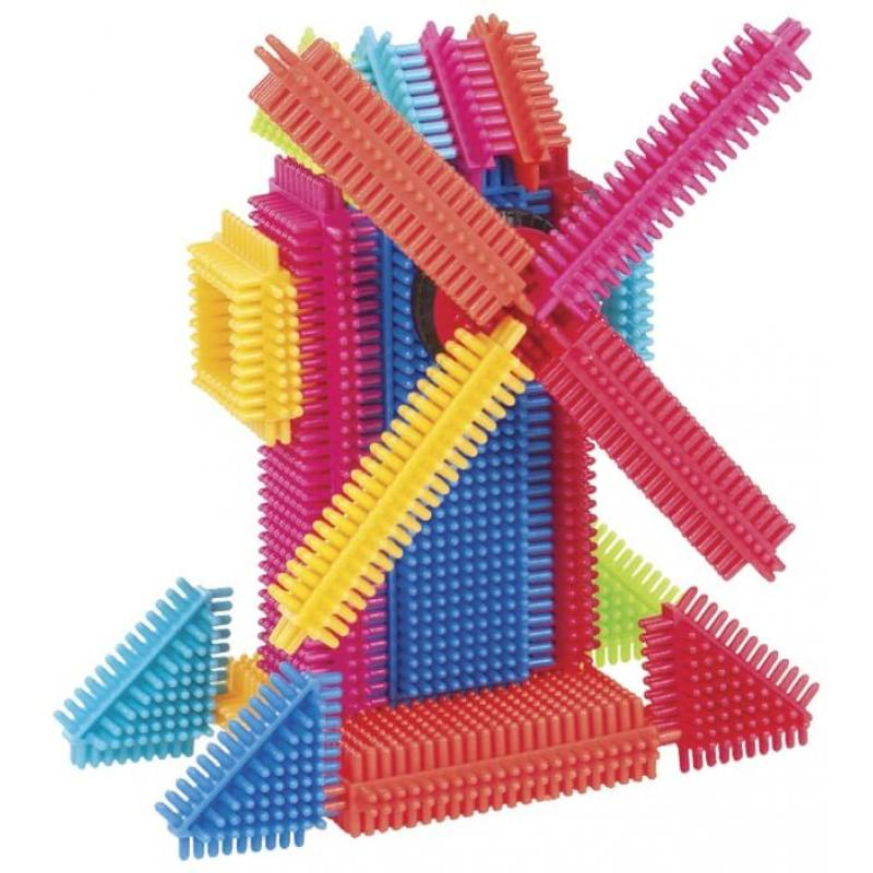 Игольчатый конструктор Battat Bristle Blocks - 36 фото