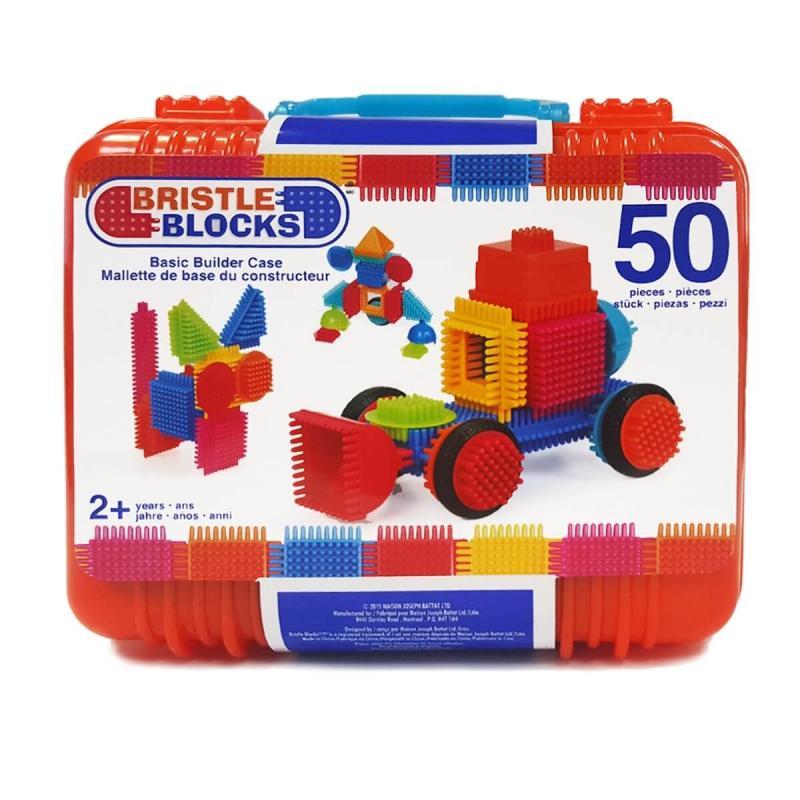 Игольчатый конструктор Battat Bristle Blocks - 50 в чемодане фото