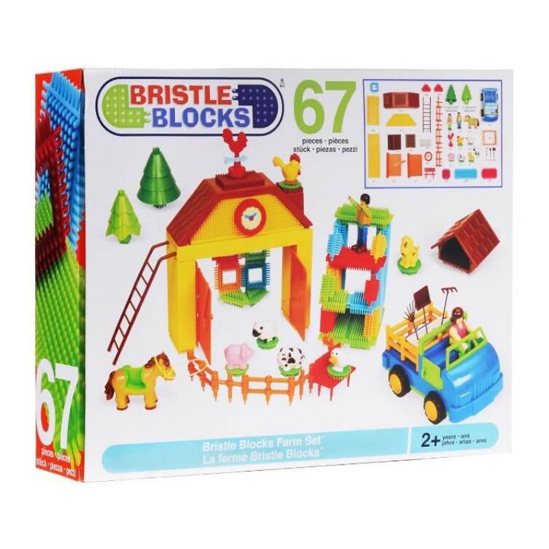 Игольчатый конструктор Battat Bristle Blocks - На ферме фото