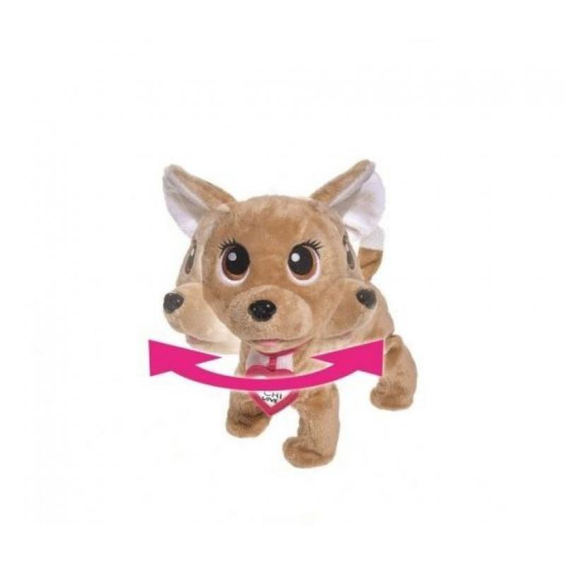 Интерактивная Собачка CHI CHI LOVE Счастливчик с сумочкой фото